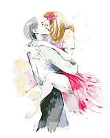 Художественный творческий набор, картина по номерам Искренние чувства, 40x50 см, «Art Story» (AS0447)