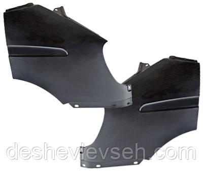 Крыло ГАЗЕЛЬ переднее  левое (без отверстия)  н.о., 3302-8403011 (КАМАЗ)