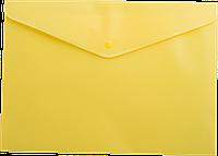 Папка-конверт на кнопке А5  матовая