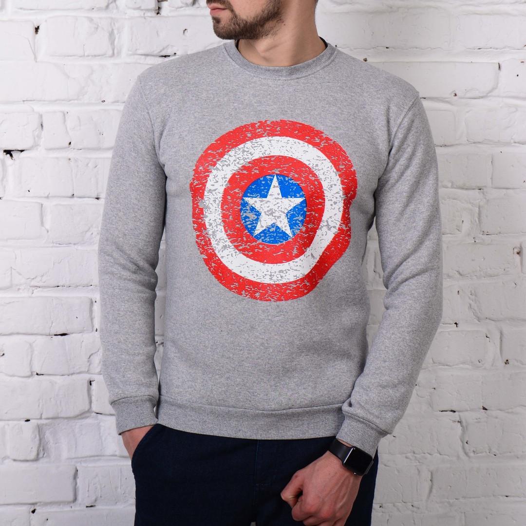 Стильный мужской свитшот, кофта, свитер. Размер XL. ТОП КАЧЕСТВО!!!