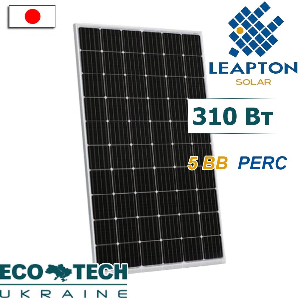Солнечная батарея Leapton LP156х156-М-60-310 5BB PERC монокристалл