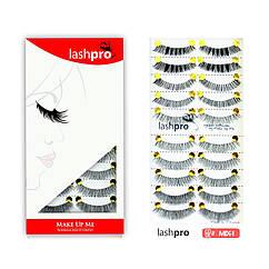 Универсальный набор ресниц Make Up Me LashPro 10 пар