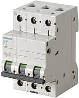 Siemens 3-полюсный, 32A, тип C, 6kA Автоматический выключатель (5SL6332-7)