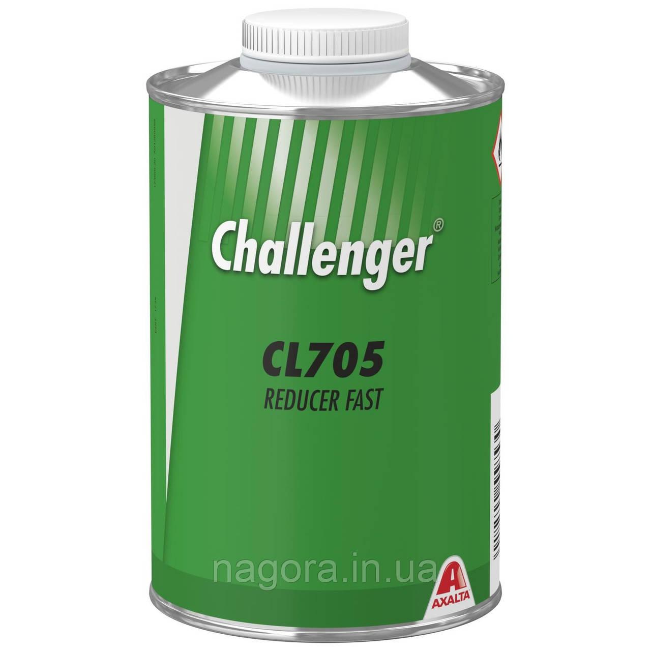 Разбавитель акриловый Challenger Reducer, быстрый (1л)