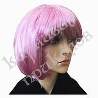Парик Каре (розовый), фото 1