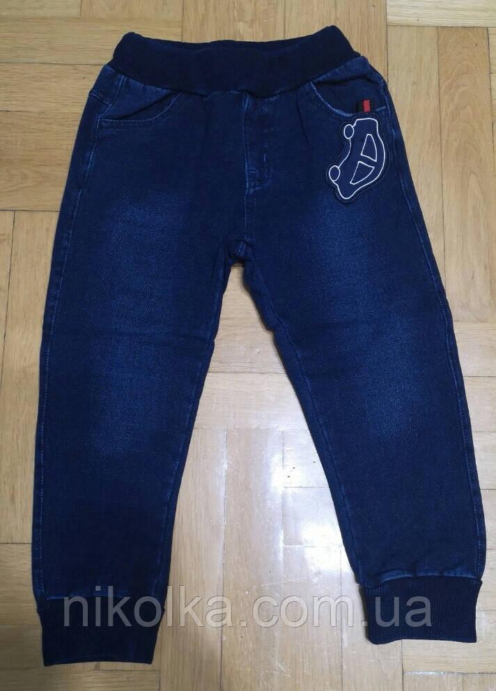 Брюки под джинс для мальчиков с легким начесом оптом, F&D, 1-5 лет., Арт. 5681