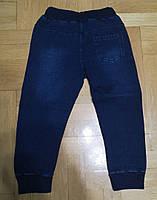 Брюки под джинс для мальчиков с легким начесом оптом, F&D, 1-5 лет., Арт. 5681, фото 3