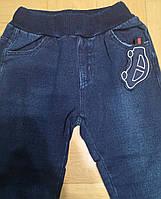 Брюки под джинс для мальчиков с легким начесом оптом, F&D, 1-5 лет., Арт. 5681, фото 2