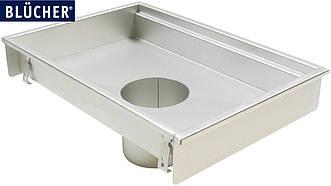 Кухонний канал BLUCHER, нержавіюча сталь, 400x800 мм, DN110, арт. 660FH008-06