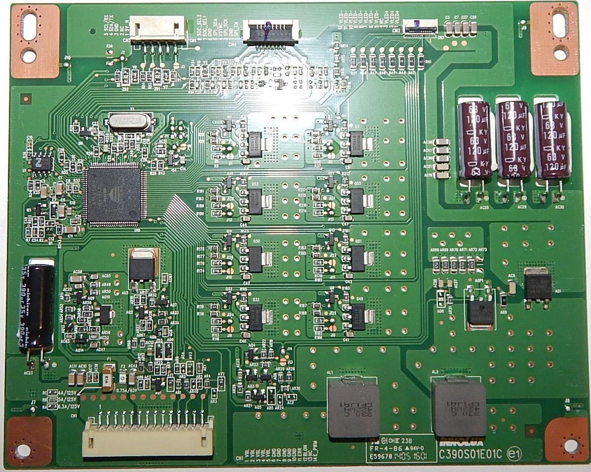 Инвертор C390S01E01 к телевизору TCL u40s7606ds