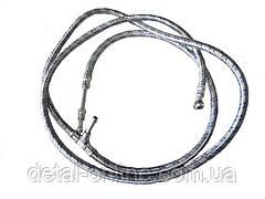 70-1101345Б топливопровод низкого давления в металлическойоплетке3 штуцера L=2700мм