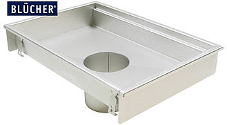 Кухонний канал BLUCHER, нержавіюча сталь, 400x600 мм, DN160 арт. 660FK006-11