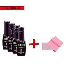 Промо-набор Гель лак Milano+Безворсовые салфетки
