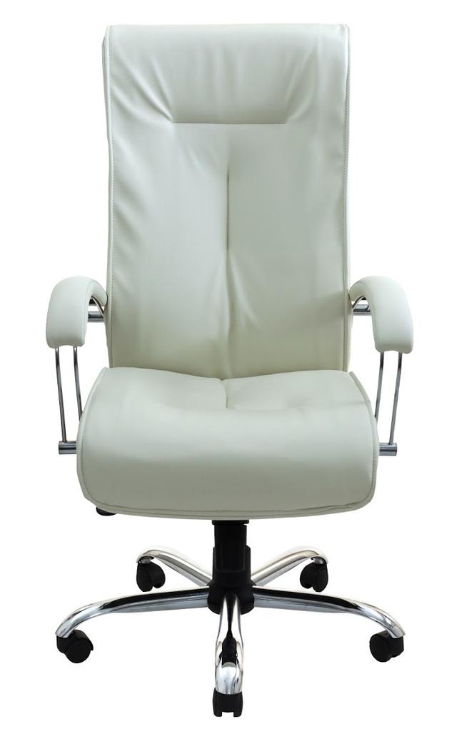 Кресло Бостон Хром белое (фото 2)