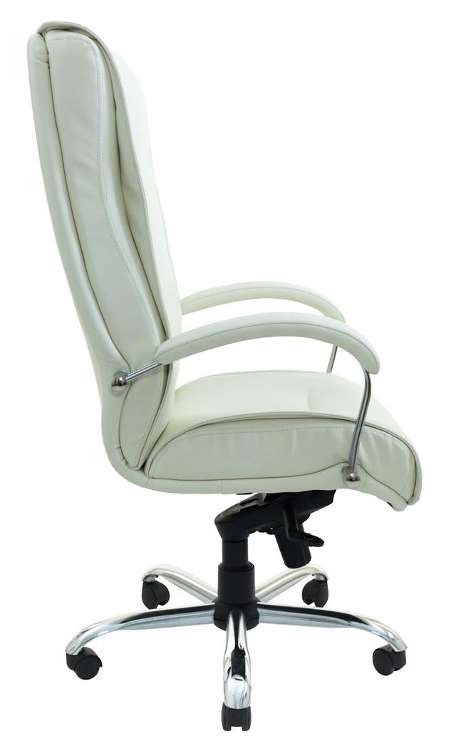 Кресло Бостон Хром белое (фото 3)