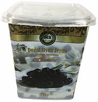 Турецкие оливки черные вяленые (маслины) 750 г MB Olives 3XS
