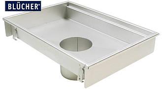 Кухонний канал BLUCHER, нержавіюча сталь, 400x800 мм, DN160, арт. 660FK008-06