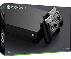Игровая приставка Microsoft Xbox One X 1TB + Wireless Controller