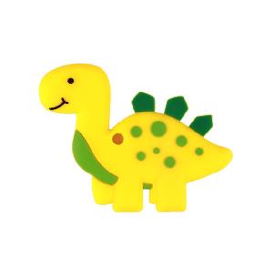 Динозавр (желтый), силиконовый прорезыватель для зубов