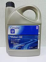 Моторное масло GM Genuine Dexos 2 LongLife 5w30 5л