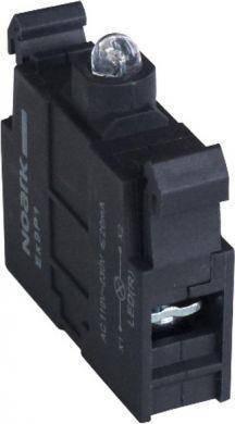 Ex9P1 LEDy 110V-230V AC, LED индикатор для кнопок Ex9P1 желтый 110V-230V AC (105603), фото 2