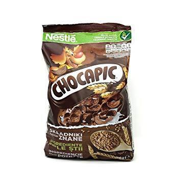 Сухие завтраки Nestle chocapic