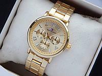 Наручные часы Tommy Hilfiger золотого цвета с золотистым циферблатом, фото 1