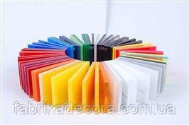 Фрезерування кольорового акрилу