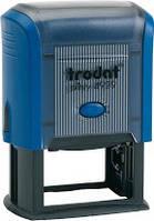 Оснастка для штампа пластмассовая 50х30мм., Printy синій, Trodat, 4929