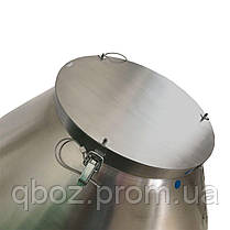 Бетономешалка из нержавеющей стали 100 литров, фото 3