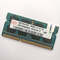 Оперативная память для ноутбука Hynix SODIMM DDR3 2Gb 1333MHz 10600s CL9 (HMT125S6BFR8C-H9 N0 AA-C) Б/У, фото 1