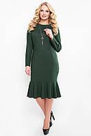 Изумрудное платье Роми ТМ VLAVI 52-58 размеры