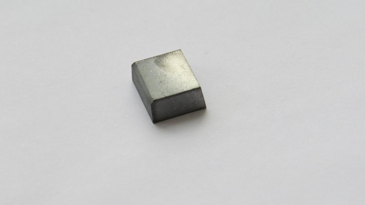 Пластина твердосплавная напайная форма 61 ГОСТ 25395-90