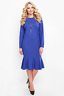 Платье Роми сапфир ТМ VLAVI 52-58 размеры