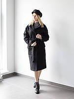 Пальто Роуз 0451_2 чёрное