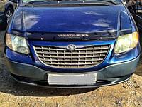 Дефлектор капота (мухобойка) DODGE Caravan IV с 2001-2008 г.в