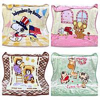 Детские тёплые двойные одеяла Размер: 105 x 105