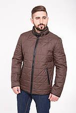 Куртка мужская демисезонная на синтепоне CW14MC01 шоколадная, фото 2