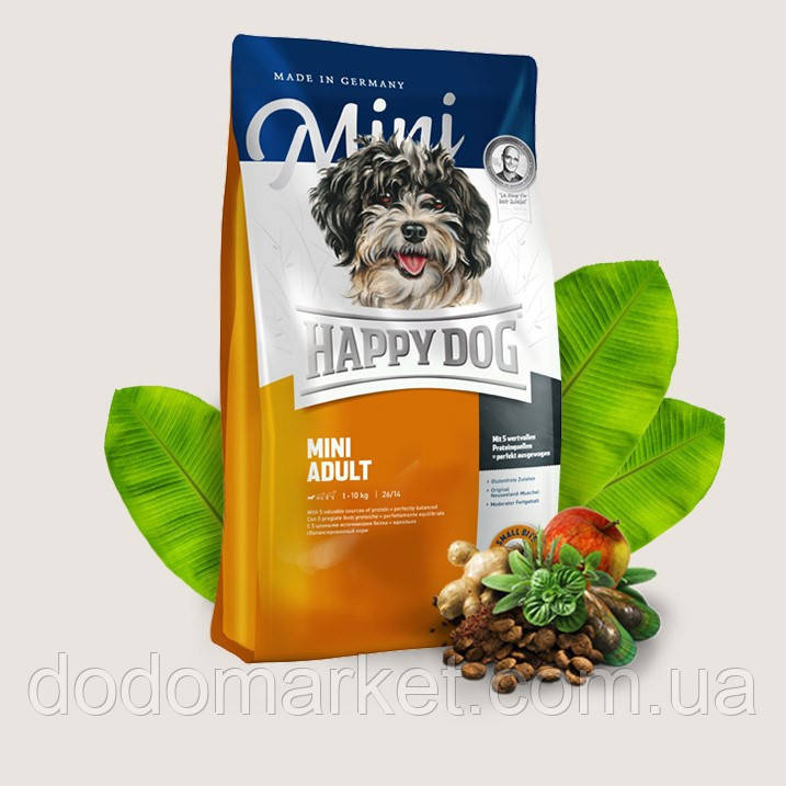 Сухой корм для собак Happy Dog Supreme Mini Adult 10 кг