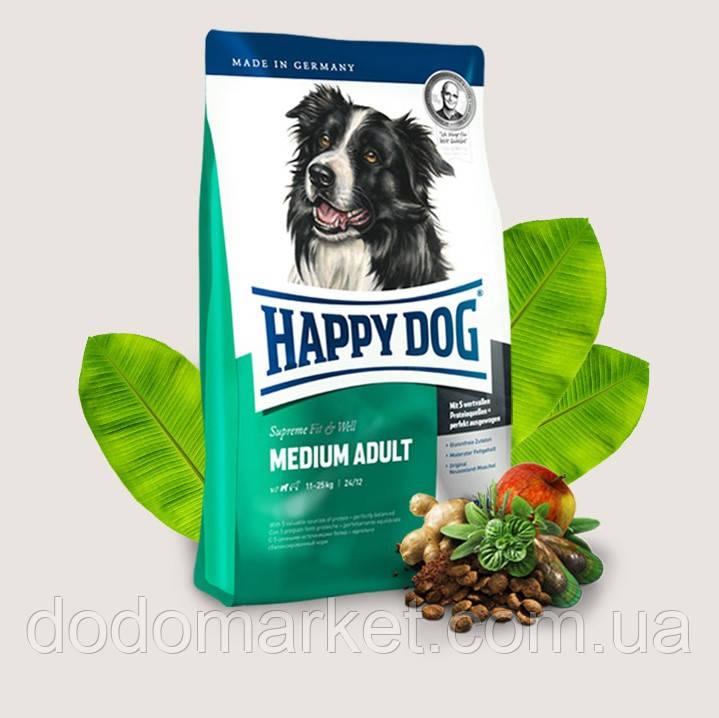 Сухой корм для собак Happy Dog Supreme Medium Adult 4 кг
