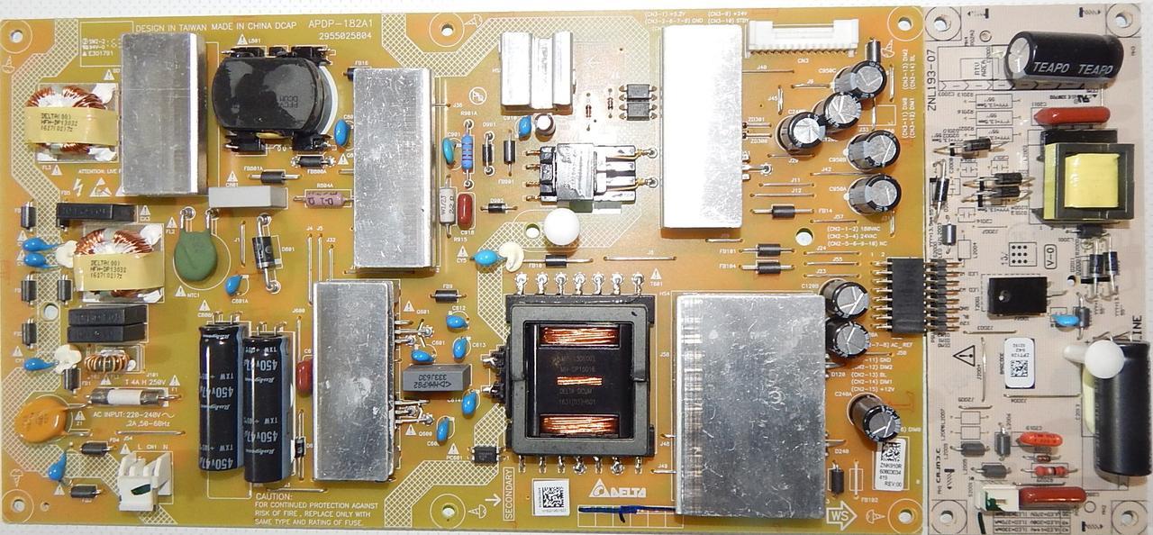 Блок питания APDP-182A1 к телевизору GRUNDIG 55GFB6622