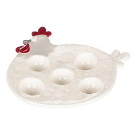 """Подставка для яиц """"Курочка """" (5шт) 005AP"""