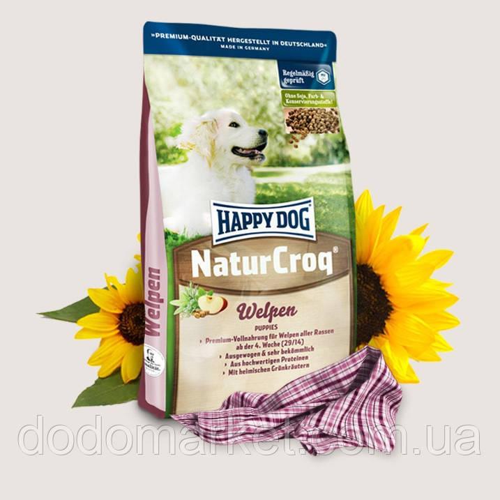 Сухой корм для щенков Happy Dog NaturCroq Puppies 15 кг