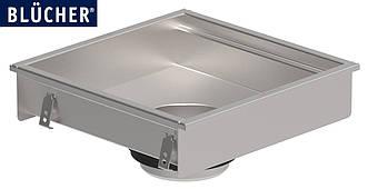 Кухонний канал BLUCHER, нержавіюча сталь, 500x500 мм, DN160 арт. 660GK005-11