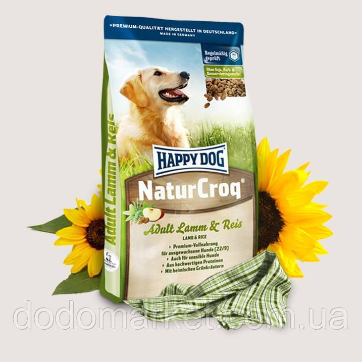 Сухой корм для собак Happy Dog NaturCroq Ягненок и Рис 4 кг