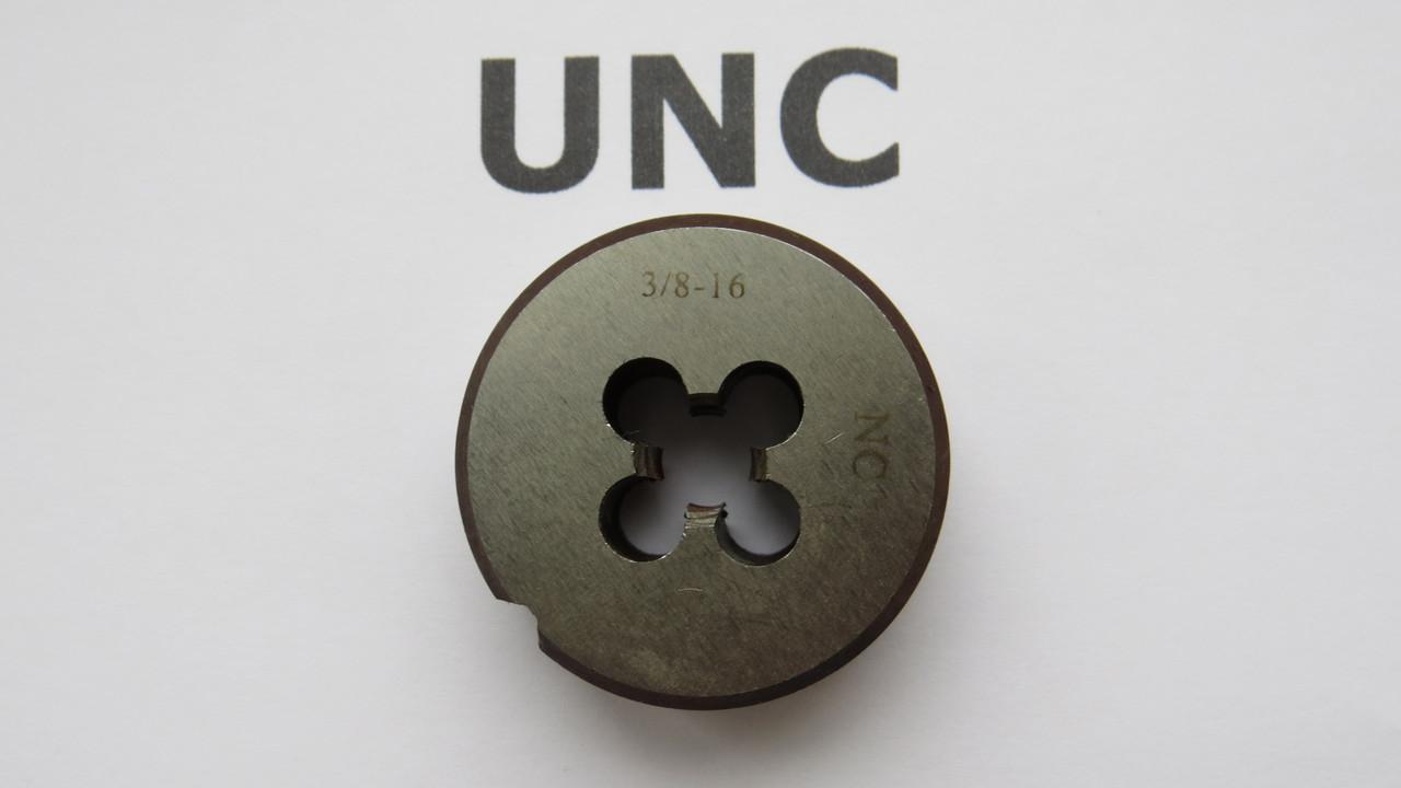 Плашка дюймовая UNC 3\8 16 ниток на дюйм KRINO