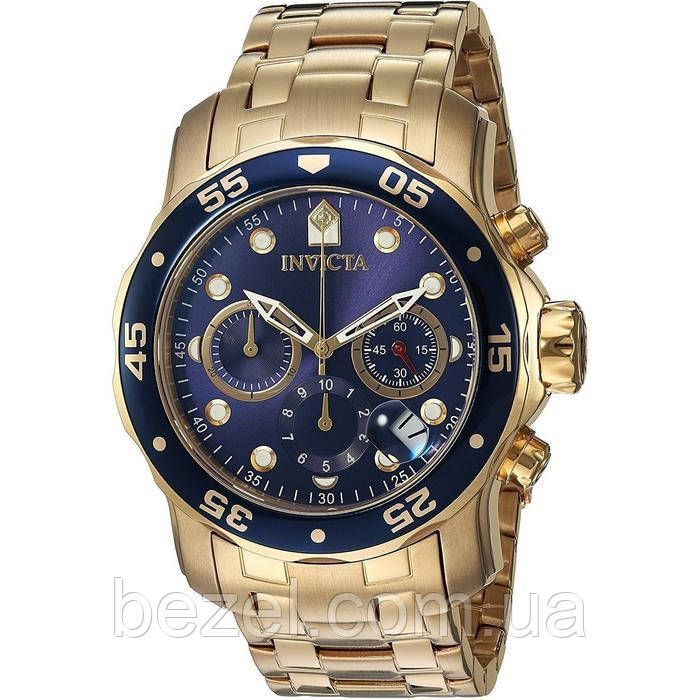 Мужские швейцарские часы INVICTA 0073 Pro Diver Инвикта дайвер водонепроницаемые швейцарские для дайвинга