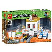 Конструктор LELE Майнкрафт Арена-череп 33226 (Аналог Lego Minecraft 21145) 210 деталей
