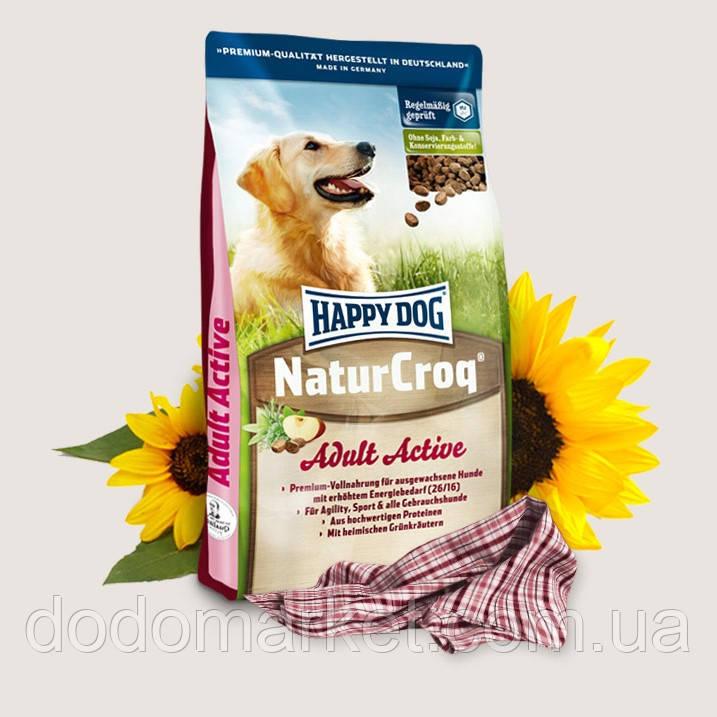 Сухой корм для собак Happy Dog NaturCroq Active 15 кг