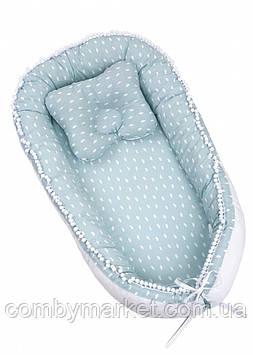 Дитяча подушка позиціонер кокон Twins Маршмеллоу